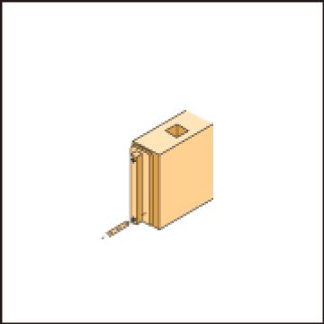 木口ボルト穴